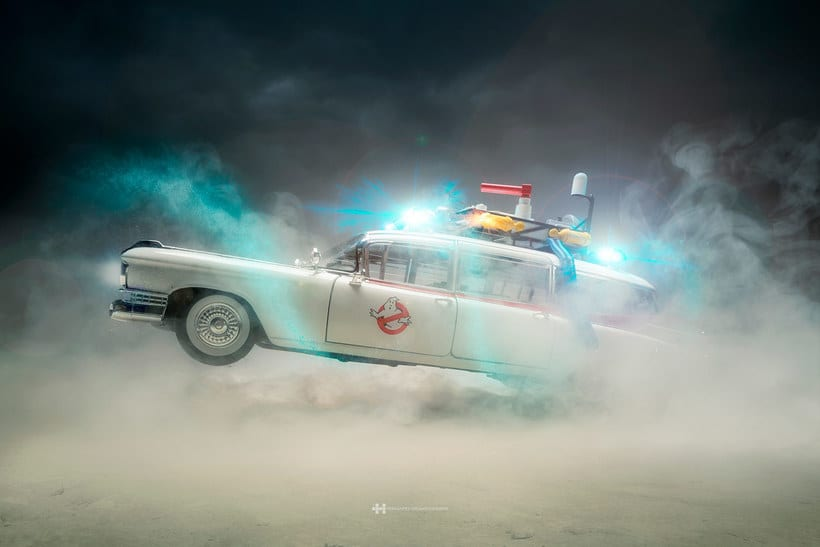 Felix Hernandez fotografía 'Coches famosos' en acción 5