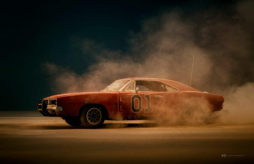 Felix Hernandez fotografía 'Coches famosos' en acción 15