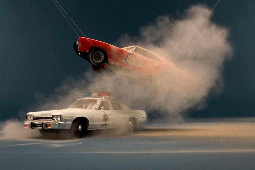 Felix Hernandez fotografía 'Coches famosos' en acción 16