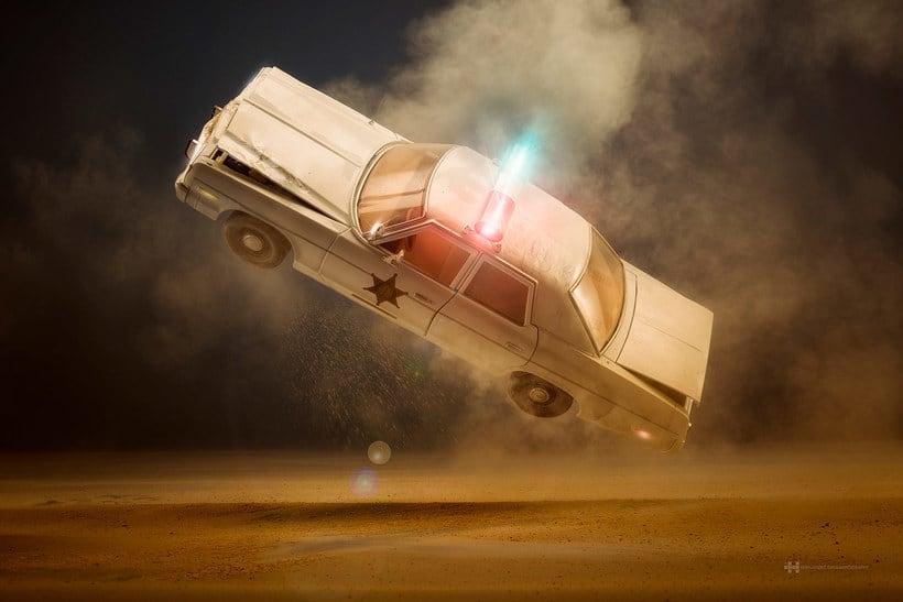 Felix Hernandez fotografía 'Coches famosos' en acción 17