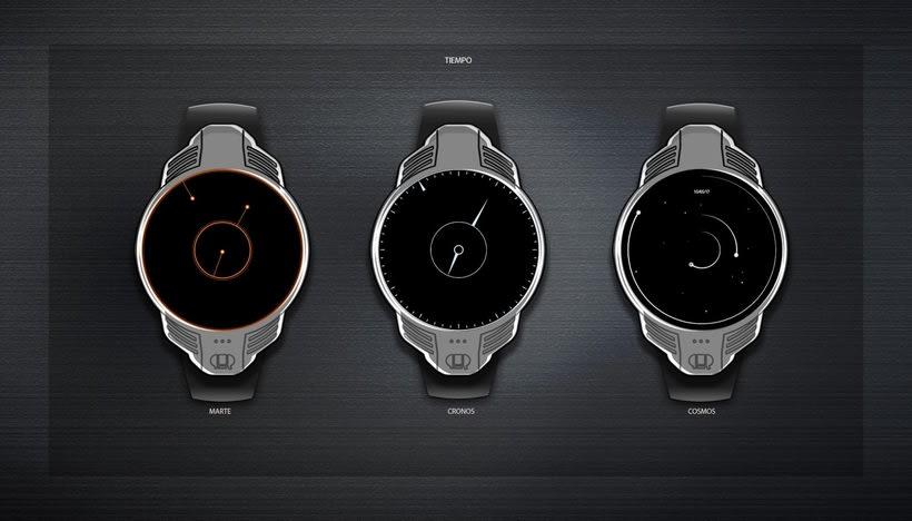 Diseño Conceptual Smartwatch URO 8