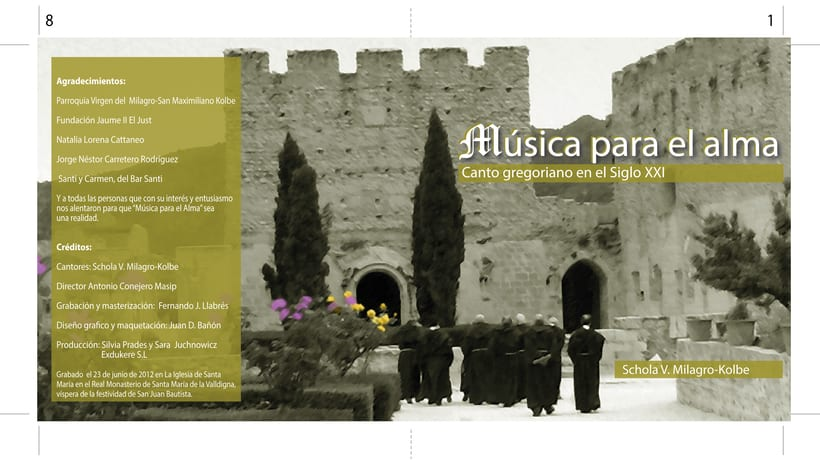 """Carátula y cartel """"Música para el alma"""" 0"""