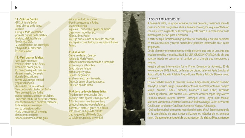 """Carátula y cartel """"Música para el alma"""" 2"""
