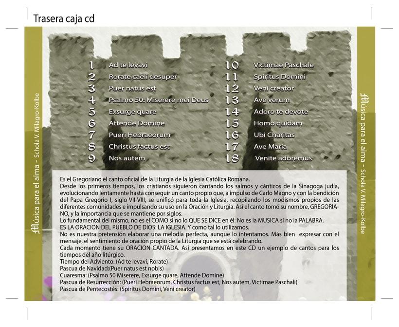 """Carátula y cartel """"Música para el alma"""" 4"""