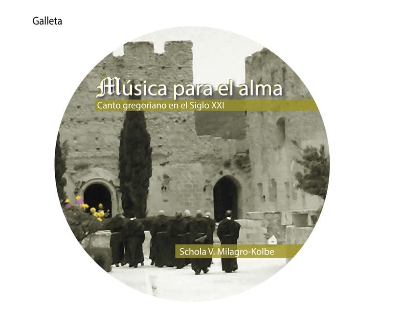 """Carátula y cartel """"Música para el alma"""" 6"""