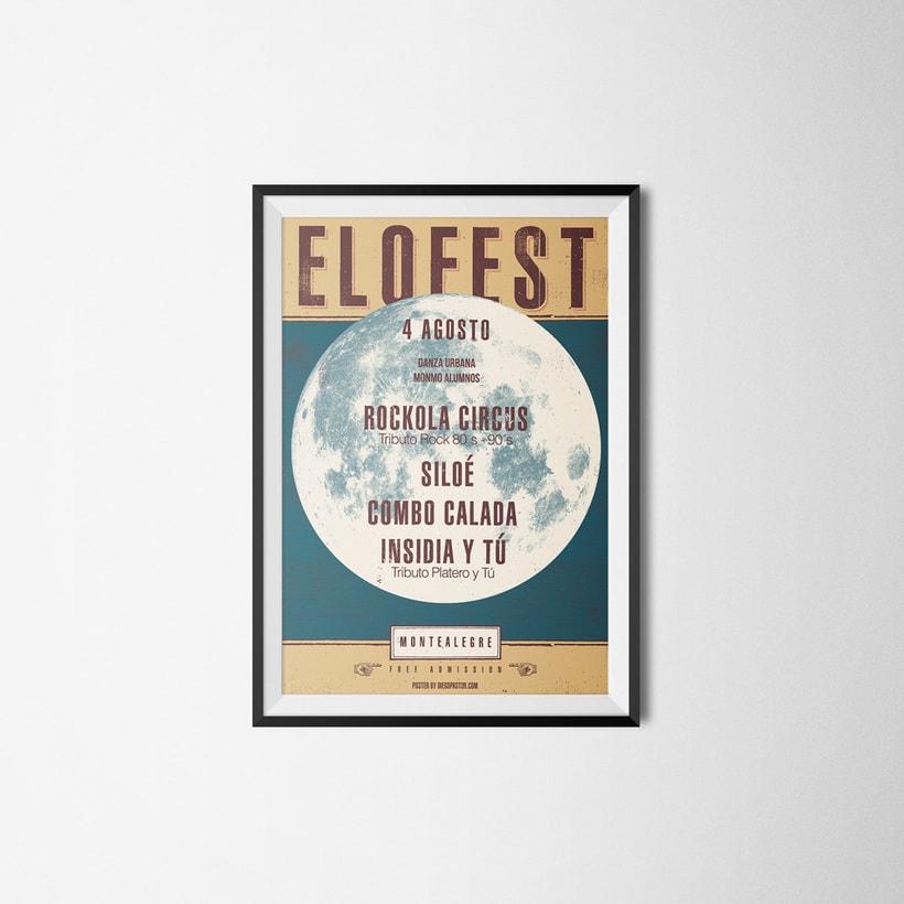 Proyecto cartelismo: Elofest -1