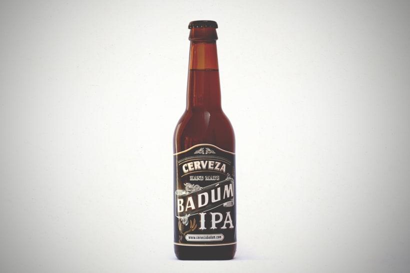 Cerveza Artesanal Badum  ( IPA ) 0