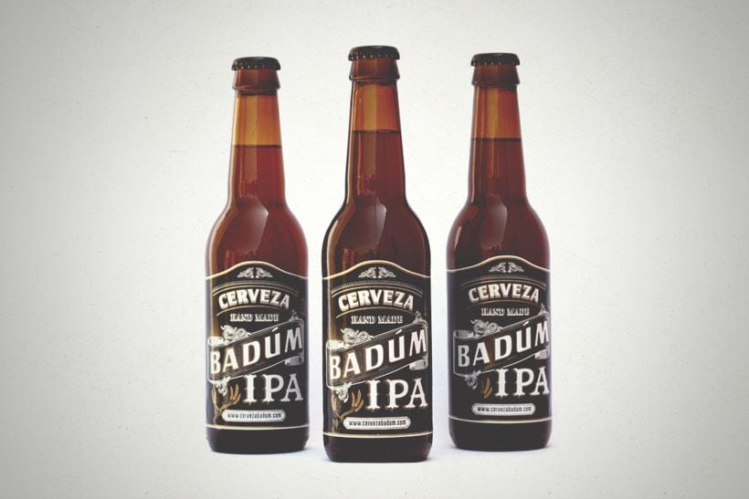 Cerveza Artesanal Badum  ( IPA ) 1