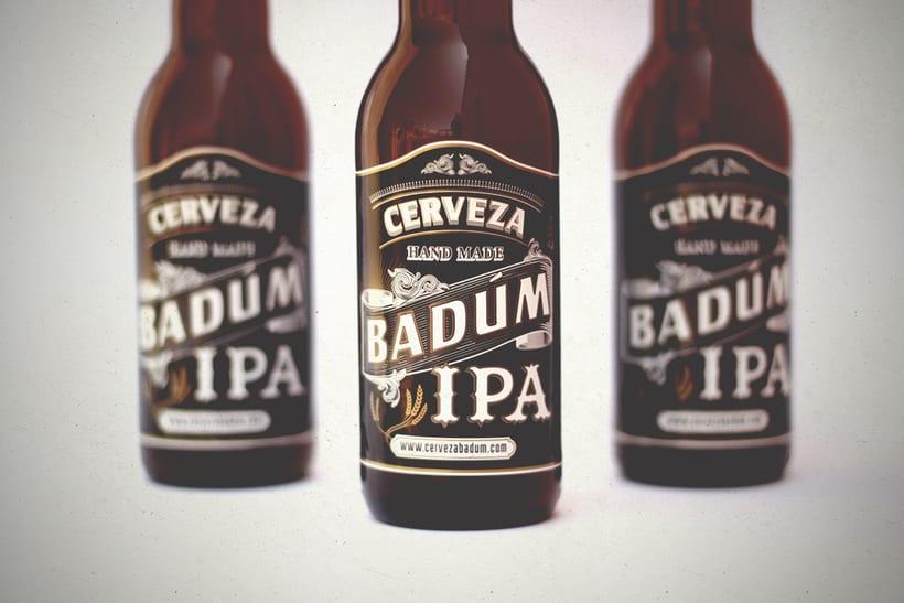 Cerveza Artesanal Badum  ( IPA ) 2