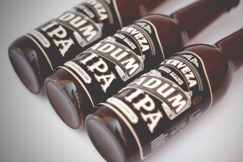 Cerveza Artesanal Badum  ( IPA ) 3