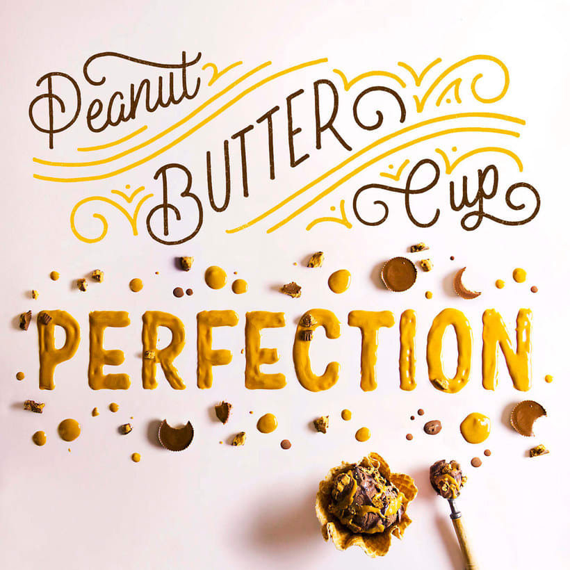 Becca Cason y el lettering comestible 13