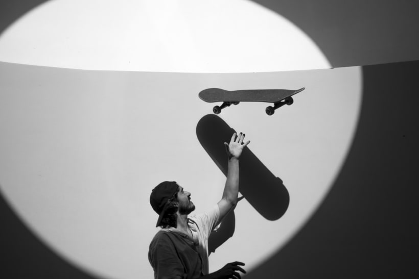 Shooting para Grimey Skateboarding. Fotografía y dirección de arte. 0