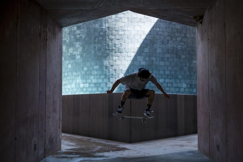 Shooting para Grimey Skateboarding. Fotografía y dirección de arte. 1