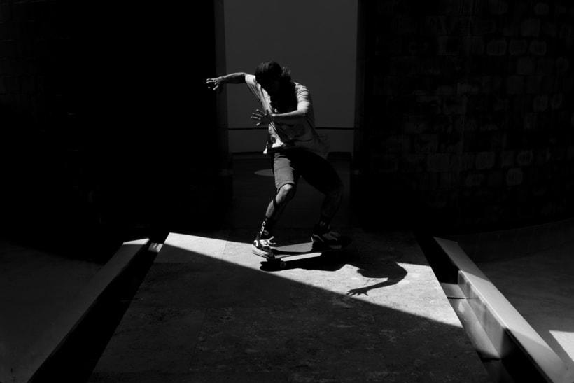 Shooting para Grimey Skateboarding. Fotografía y dirección de arte. 3