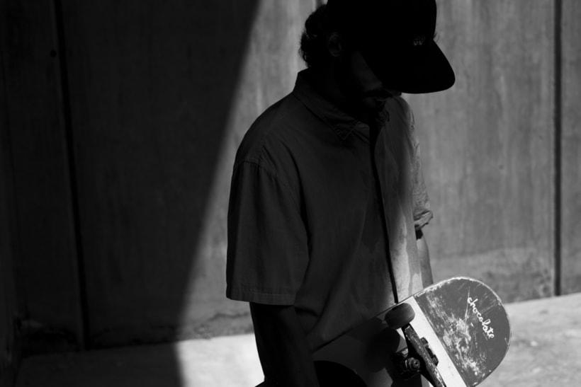 Shooting para Grimey Skateboarding. Fotografía y dirección de arte. 5