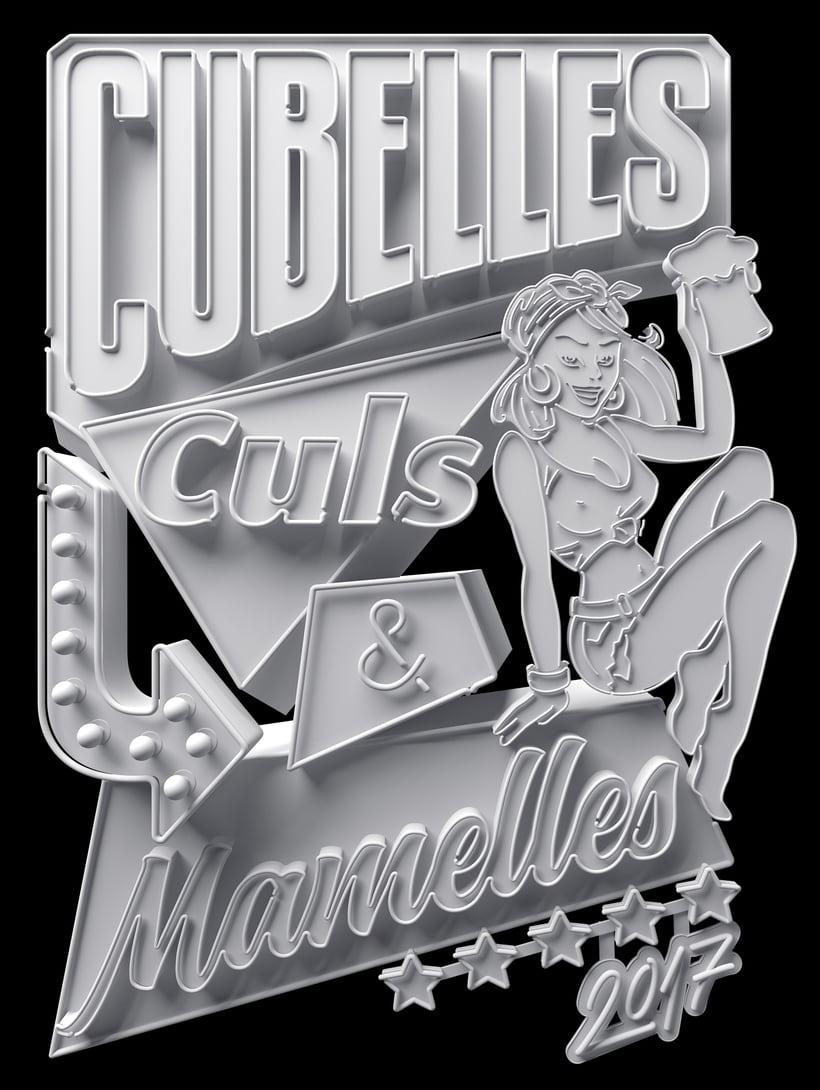 Cubelles - Neon sign 2