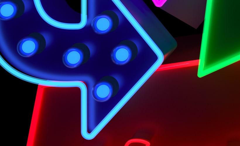 Cubelles - Neon sign 6