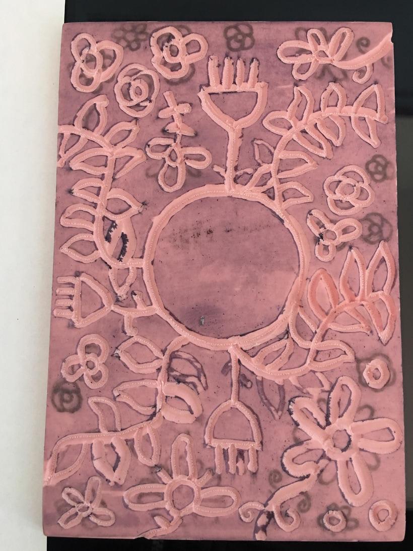 Mi Proyecto del curso: Carvado de sellos y técnicas de estampación 1