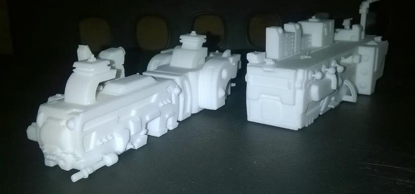 Creación e impresion en 3D. -1