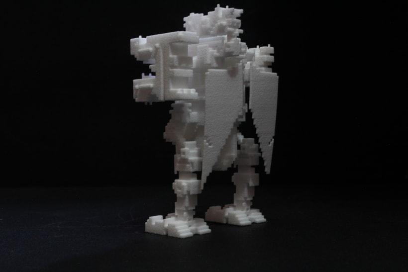Creación e impresion en 3D. 13