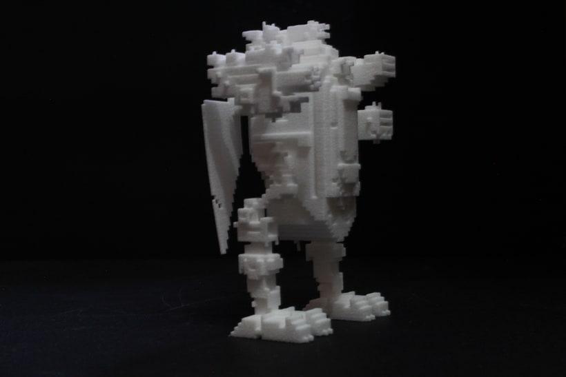 Creación e impresion en 3D. 14