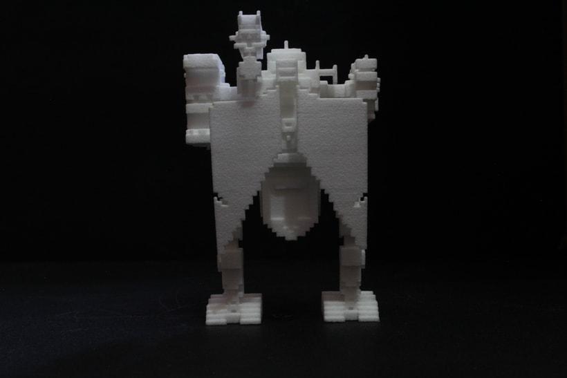 Creación e impresion en 3D. 15