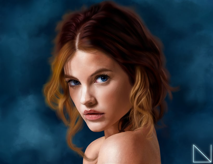 Portrait of Barbara Palvin -1