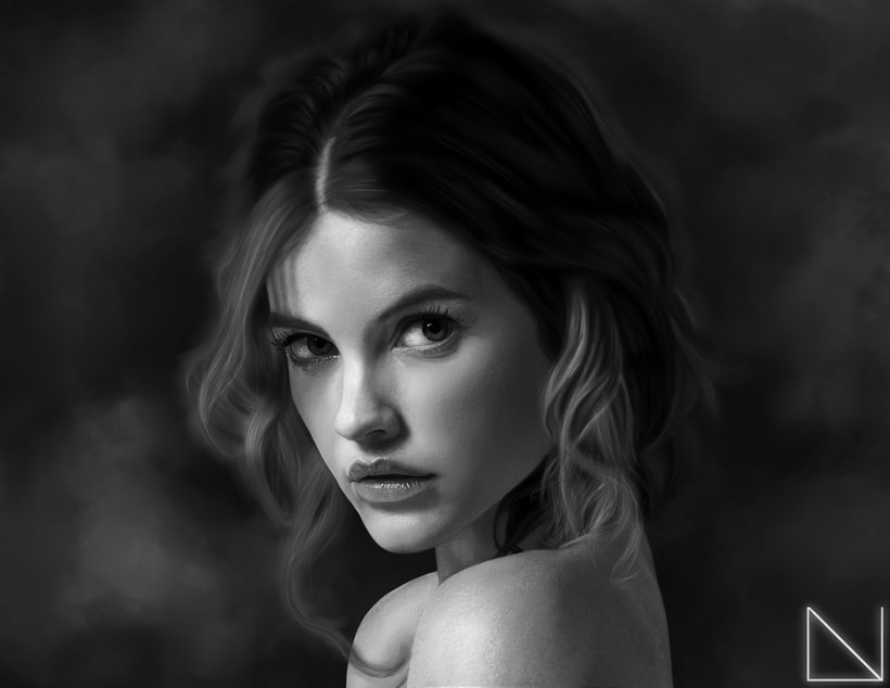 Portrait of Barbara Palvin 0