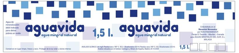 Etiqueta para Agua mineral  0