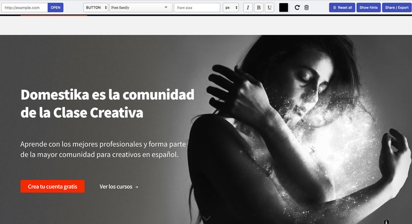 Fonfit: un simulador de tipografías web 3