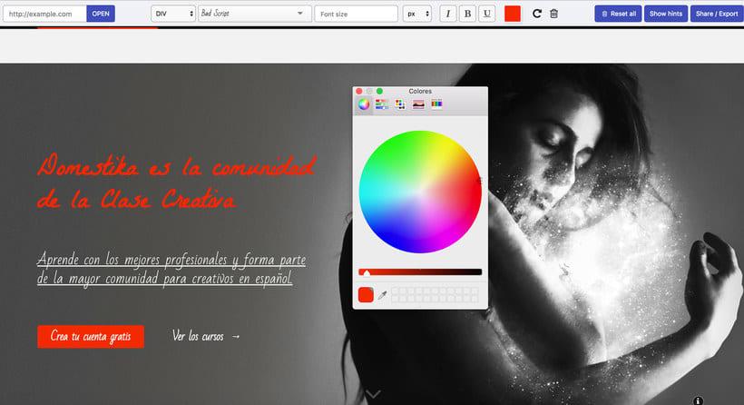 Fonfit: un simulador de tipografías web 6