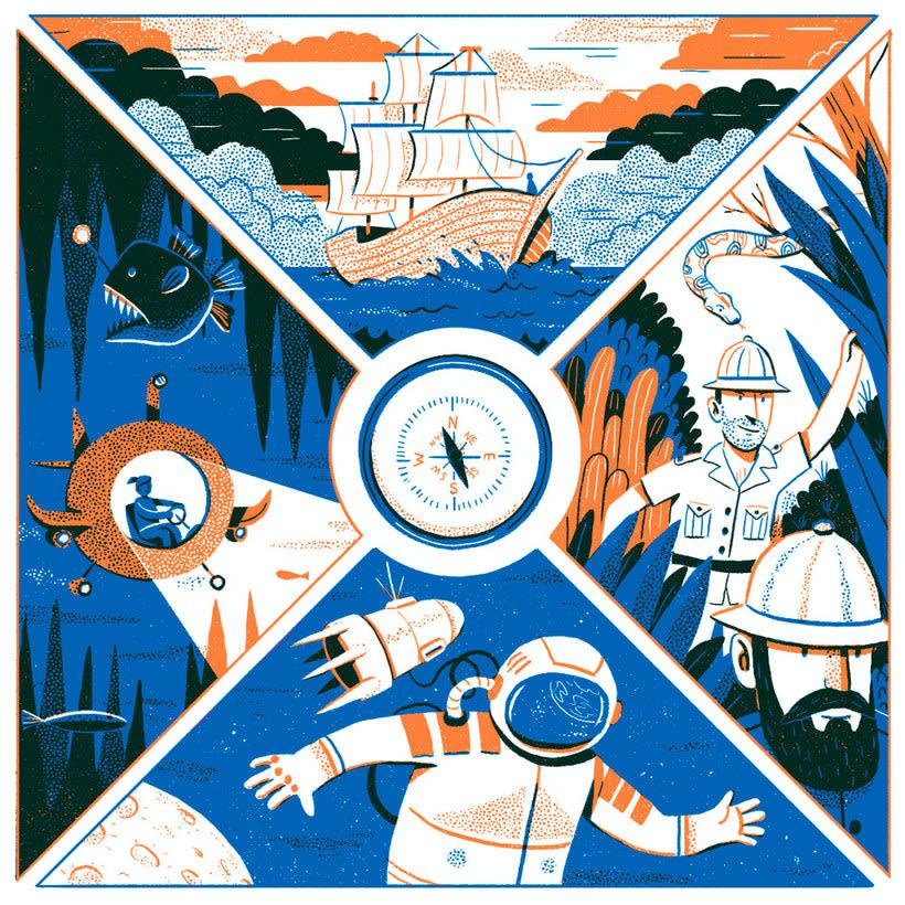 Andrés Lozano: la ilustración tradicional se renueva 9