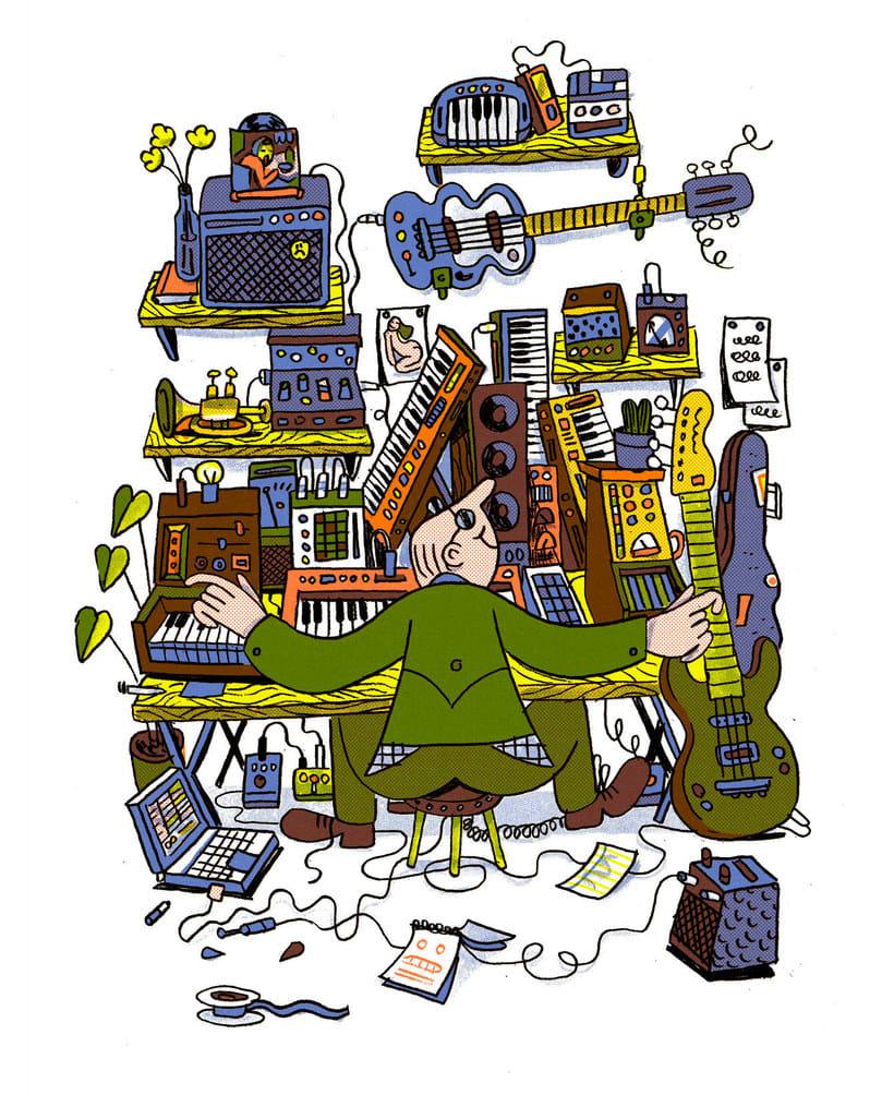 Andrés Lozano: la ilustración tradicional se renueva 14