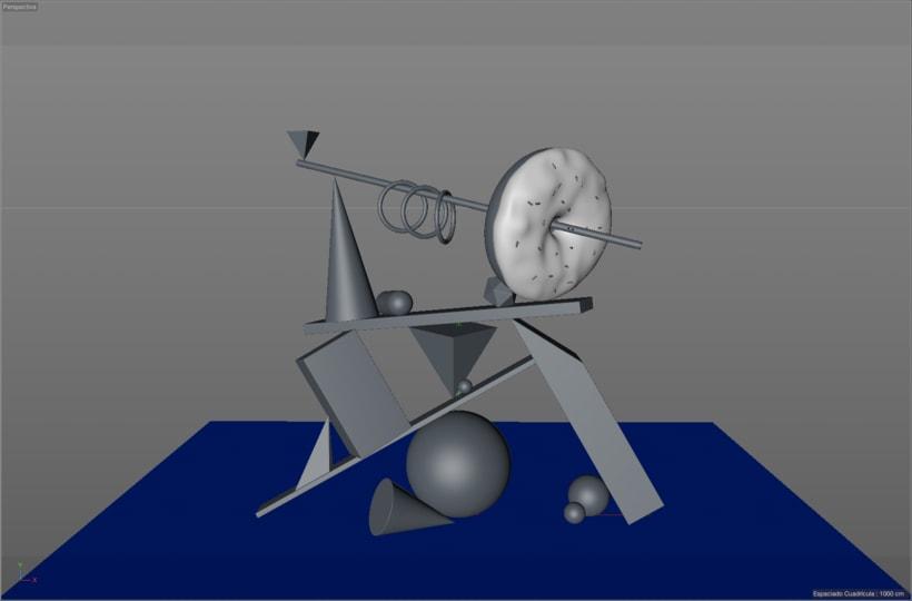 Totem Skollrax, es un proyecto personal como parte de un curso de Cinema4D impartido por el ilustrador Zigor. 0