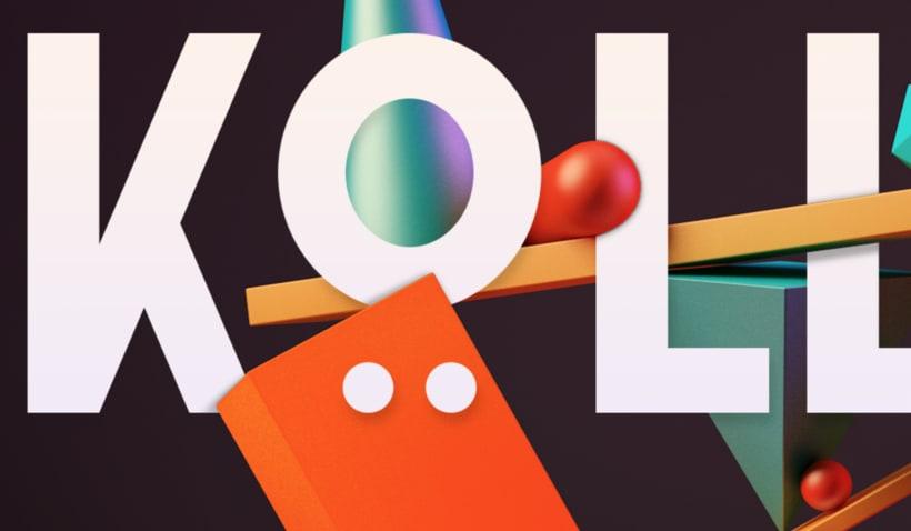 Totem Skollrax, es un proyecto personal como parte de un curso de Cinema4D impartido por el ilustrador Zigor. 4