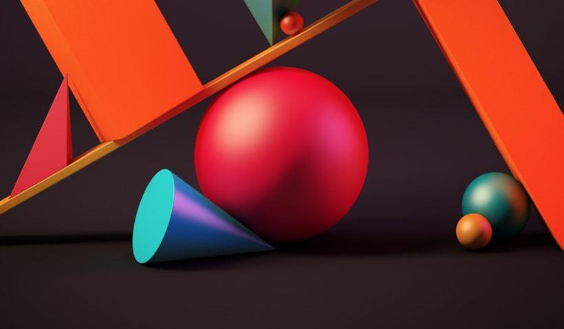 Totem Skollrax, es un proyecto personal como parte de un curso de Cinema4D impartido por el ilustrador Zigor. 5