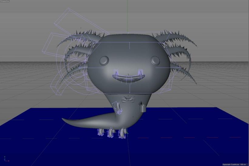 Mascota 3D paso a paso desde el boceto hasta el retoque final, este es un proyecto personal creado para un curso de modelado en cinema4D, impartido por @Zigor (ilustrador 3d). 0
