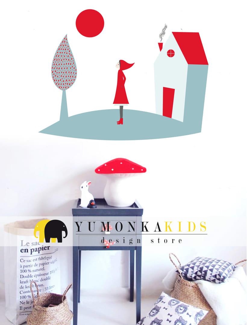 Vinilos Infantiles - Yumonka 2
