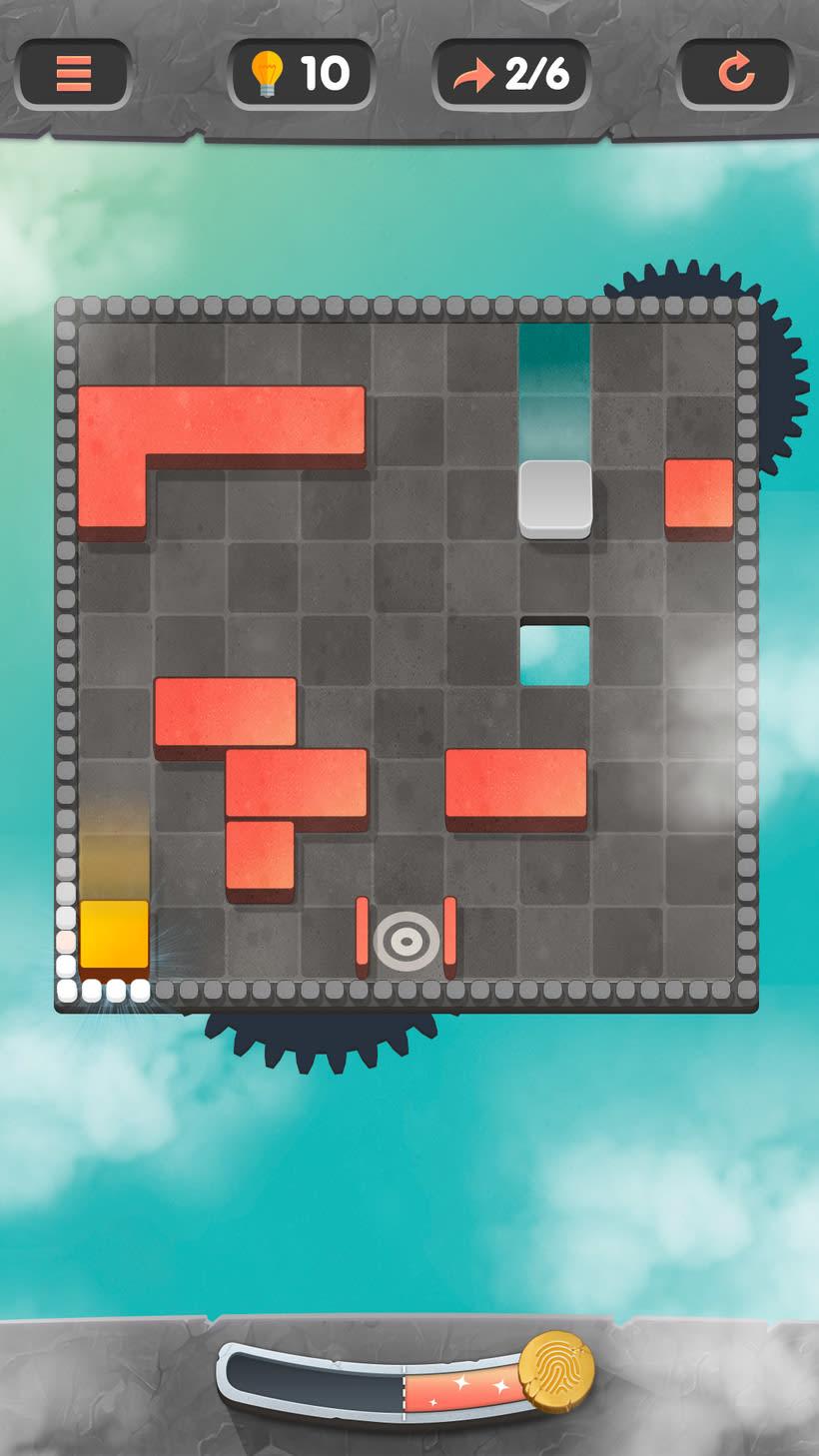 Juego puzle rotatorio en falso 3d. Próximanente en las tiendas 0