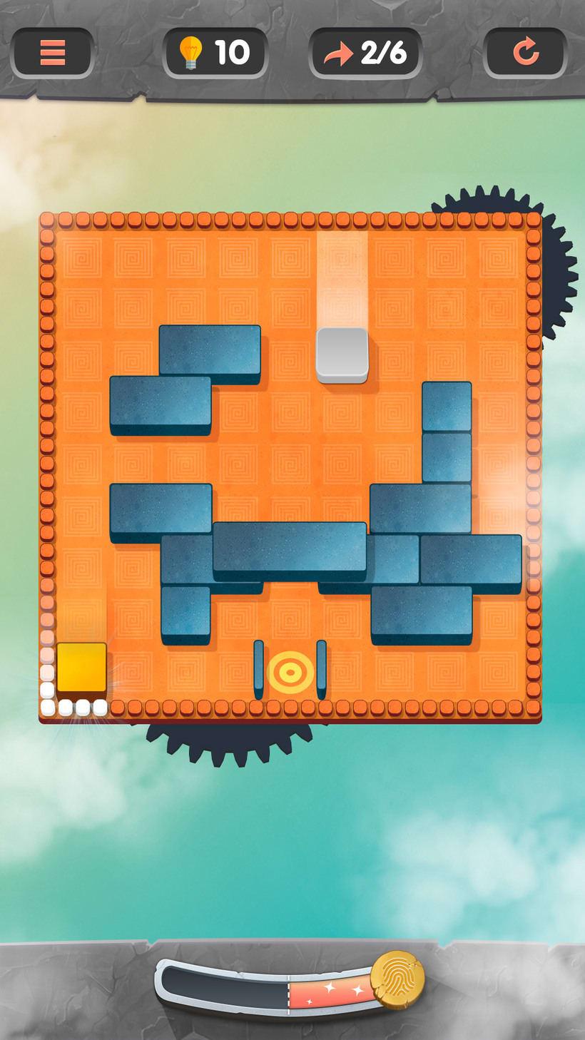Juego puzle rotatorio en falso 3d. Próximanente en las tiendas 4