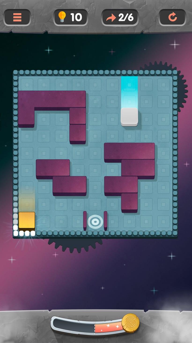 Juego puzle rotatorio en falso 3d. Próximanente en las tiendas 6
