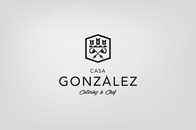 Diseño de Imagen e identidad corporativa de Casa González 0