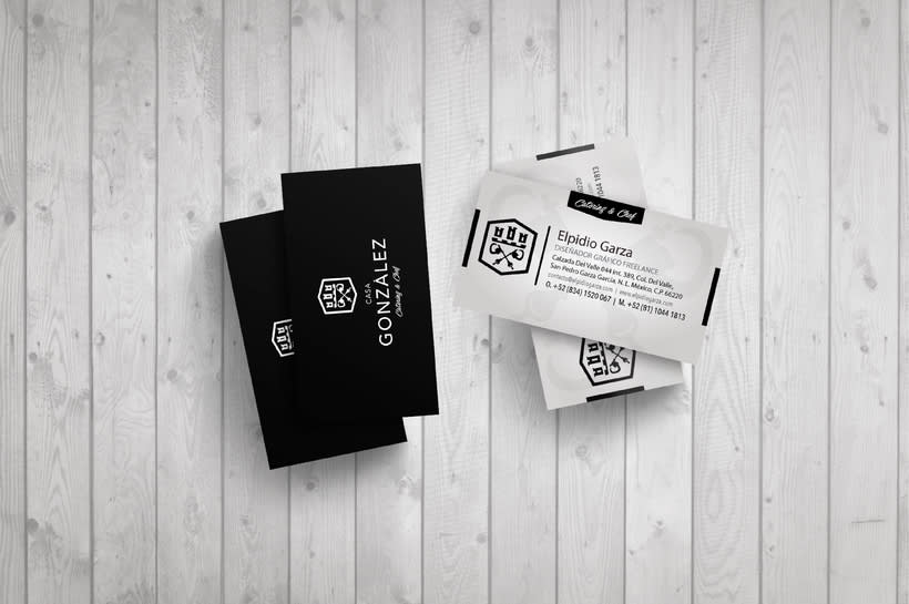Diseño de Imagen e identidad corporativa de Casa González 2