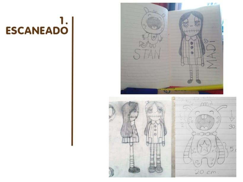 Madi & Stan, Mi Proyecto del curso: Crea un Art Toy 0