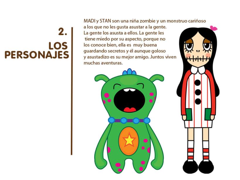 Madi & Stan, Mi Proyecto del curso: Crea un Art Toy 1