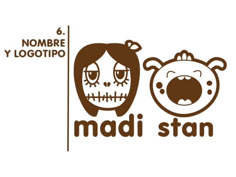 Madi & Stan, Mi Proyecto del curso: Crea un Art Toy 7