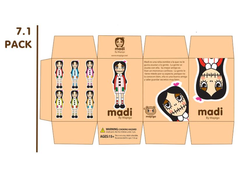 Madi & Stan, Mi Proyecto del curso: Crea un Art Toy 8