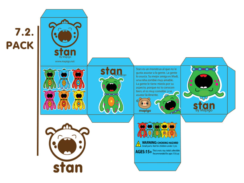 Madi & Stan, Mi Proyecto del curso: Crea un Art Toy 9
