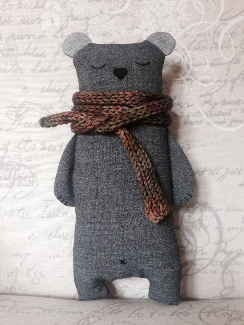 Muñecajos - Mi Proyecto del curso: Textile Toys 3