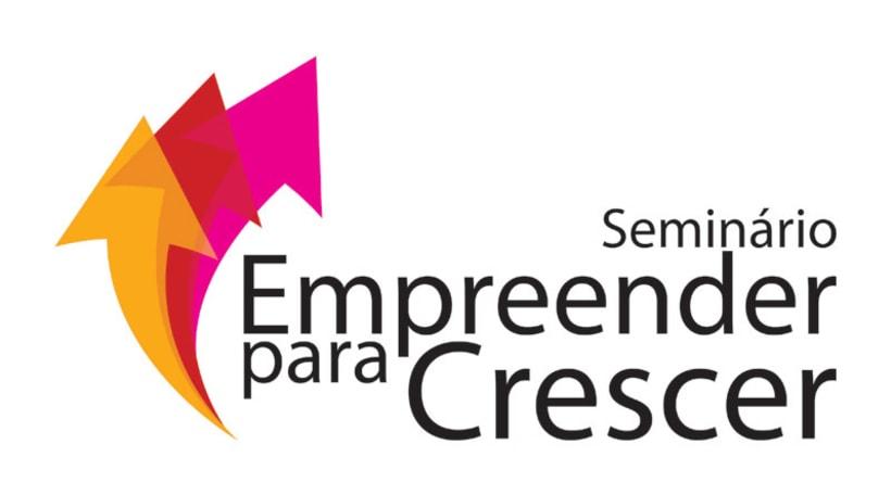 """Logotype """"Seminário - Empreender para Crescer"""" -1"""